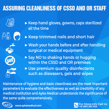CSSD and OR staff